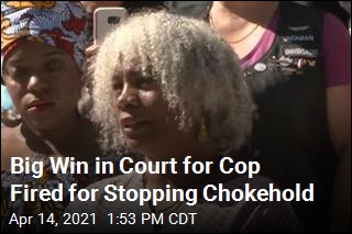 Big Win in Court for Cop Fired for Stopping Chokehold