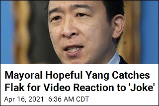 Andrew Yang Seen Laughing in Video at Misogynistic 'Joke'