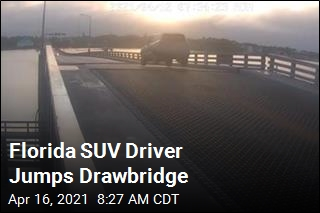 Florida SUV Driver Jumps Drawbridge