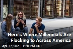 Here's Where Millennials Are Flocking to Across America