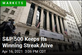S&P 500 Keeps Its Winning Streak Alive