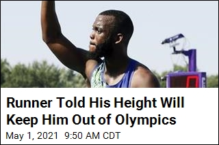 Runner Told His Height Will Keep Him Out of Olympics