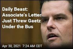Report: Greenberg Letter States Gaetz Had Sex With 17-Year-Old