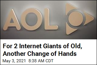 For 2 Internet Giants of Old, Another Change of Hands
