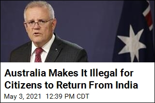 Australia: Citizens Returning From India Could Face Jail