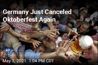 Germany Just Canceled Oktoberfest Again