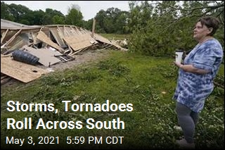 Storms, Tornadoes Roll Across South
