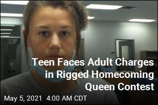 After Rigged Homecoming Queen Contest, Teen to Be Charged as Adult