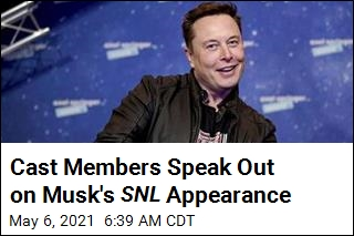 Cast Members Speak Out on Musk's SNL Appearance