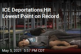 ICE Deportations Plunge Under Biden