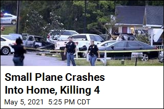 4 Dead After Plane Crashes Into Mississippi Home