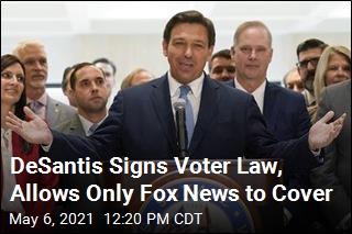 Florida's DeSantis Puts New Voting Rules in Effect