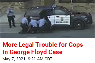 More Legal Trouble for Cops in George Floyd Case