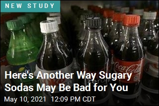 Here's Another Way Sugary Sodas May Be Bad for You
