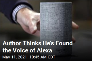 Author Thinks He's Found the Voice of Alexa
