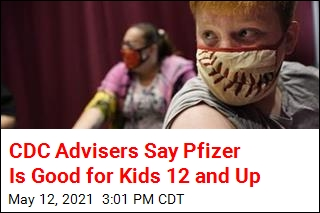 CDC Advisers Say Pfizer Is Good for Kids 12 and Up