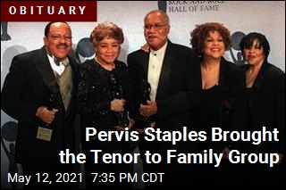Pervis Staples Sang With Sam Cooke, Then His Family