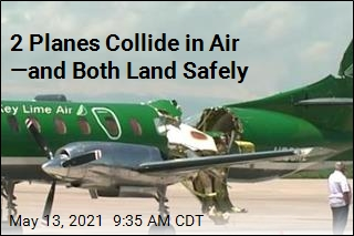 2 Planes Collide Midair. The Result: 'Amazing'