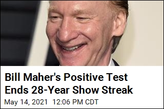 Fully Vaccinated Bill Maher Tests Positive for COVID
