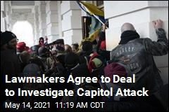 Lawmakers Agree to Deal to Investigate Capitol Attack