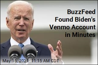 BuzzFeed Found Biden's Venmo Account in Minutes