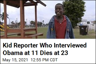 Kid Reporter Who Interviewed Obama at 11 Dies at 23