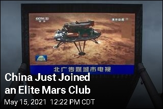 China Just Joined an Elite Mars Club