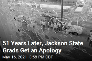 51 Years Later, Jackson State Grads Get an Apology