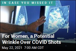 For Women, a Potential Wrinkle Over COVID Shots