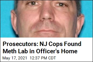 NJ Cop Who Made $128K Accused of At-Home Meth Lab