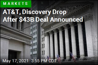 AT&T, Discovery Drop After $43B Deal Announced