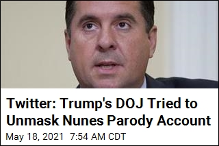 Twitter: Trump's DOJ Tried to Unmask Nunes Parody Account