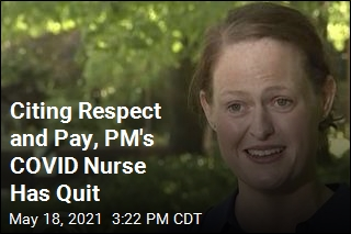 Citing Respect and Pay, PM's COVID Nurse Has Quit
