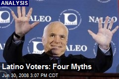 Latino Voters: Four Myths