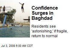 Confidence Surges in Baghdad