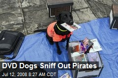 DVD Dogs Sniff Out Pirates