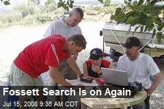 Fossett Search Is on Again