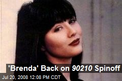 'Brenda' Back on 90210 Spinoff