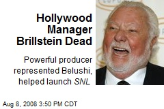 Hollywood Manager Brillstein Dead