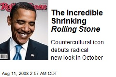 The Incredible Shrinking Rolling Stone