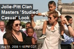 Jolie-Pitt Clan Masters 'Studied Casual' Look