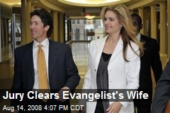 Jury Clears Evangelist's Wife