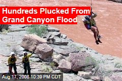 Hundreds Plucked From Grand Canyon Flood