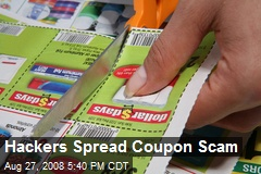 Hackers Spread Coupon Scam