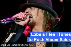 Labels Flee iTunes to Push Album Sales