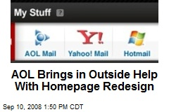 AOL Brings in Outside Help With Homepage Redesign
