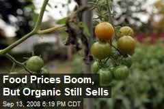 Food Prices Boom, But Organic Still Sells