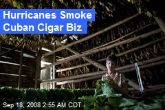 Hurricanes Smoke Cuban Cigar Biz