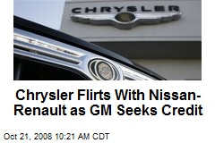 Chrysler Flirts With Nissan- Renault as GM Seeks Credit