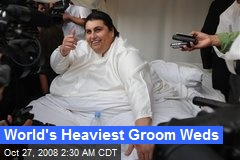 World's Heaviest Groom Weds